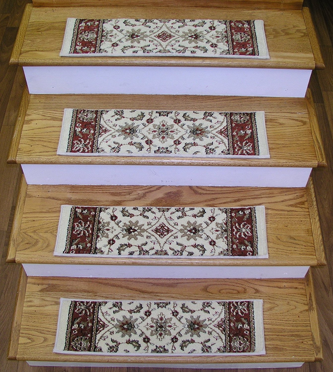 Get Quotations 146540 Rug Depot Premium Carpet Stair Treads Set Of 13 26