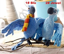 2Pcs/lot High Quality plush toys Parrot.28cm baby toys, can be arbitrarily changed shape.brinquedos