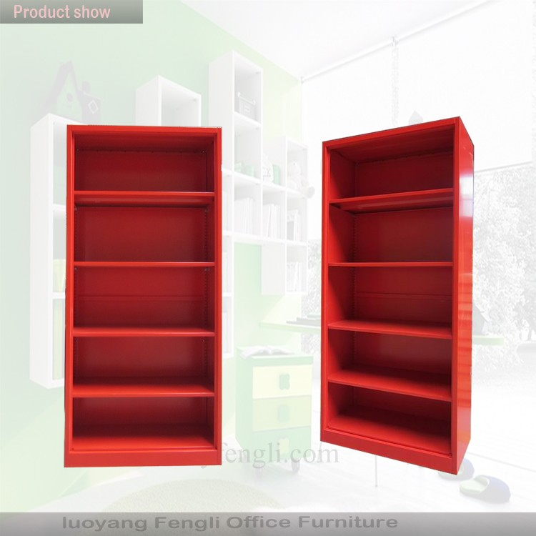 Library Decoration Bookshelf Metal Book Case Storage Cabinet - Buy ...