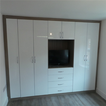 Narrow White Wardrobe Wardrobes And Tv Units Tall With Drawers