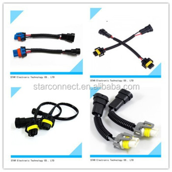 universial light wire harness male female connector electrical rh alibaba com male and female wire harness connectors Crimp Connection