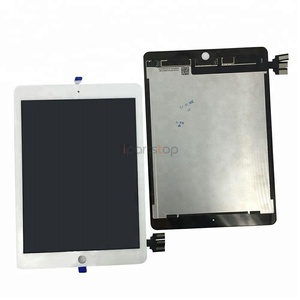 For iPad Pro 9.7 inch Display LCD Screen Touch Digitizer Assembly Black White