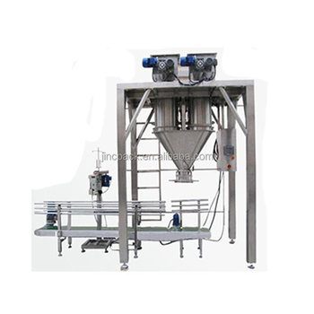 Baby powder open mouth bag top open bag packing machine