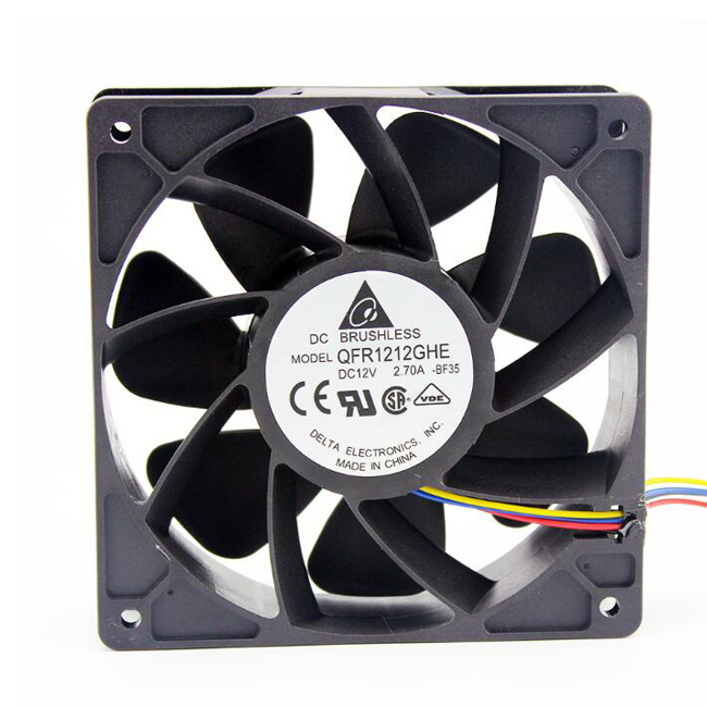 1pcs New Delta QFR1212GHE 12V 2.70A 12038 Server Fan