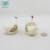 Factory direct embossed decal hard dolomite ceramic salt and pepper shaker