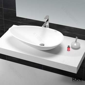 over counter design small size corner hand wash sink - Hand Wash Sink