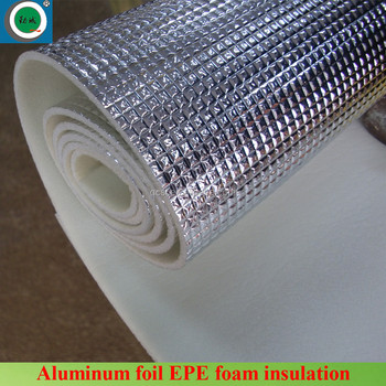 Waterproof Insulation Black Polyethylene Foam Laminate Flooring