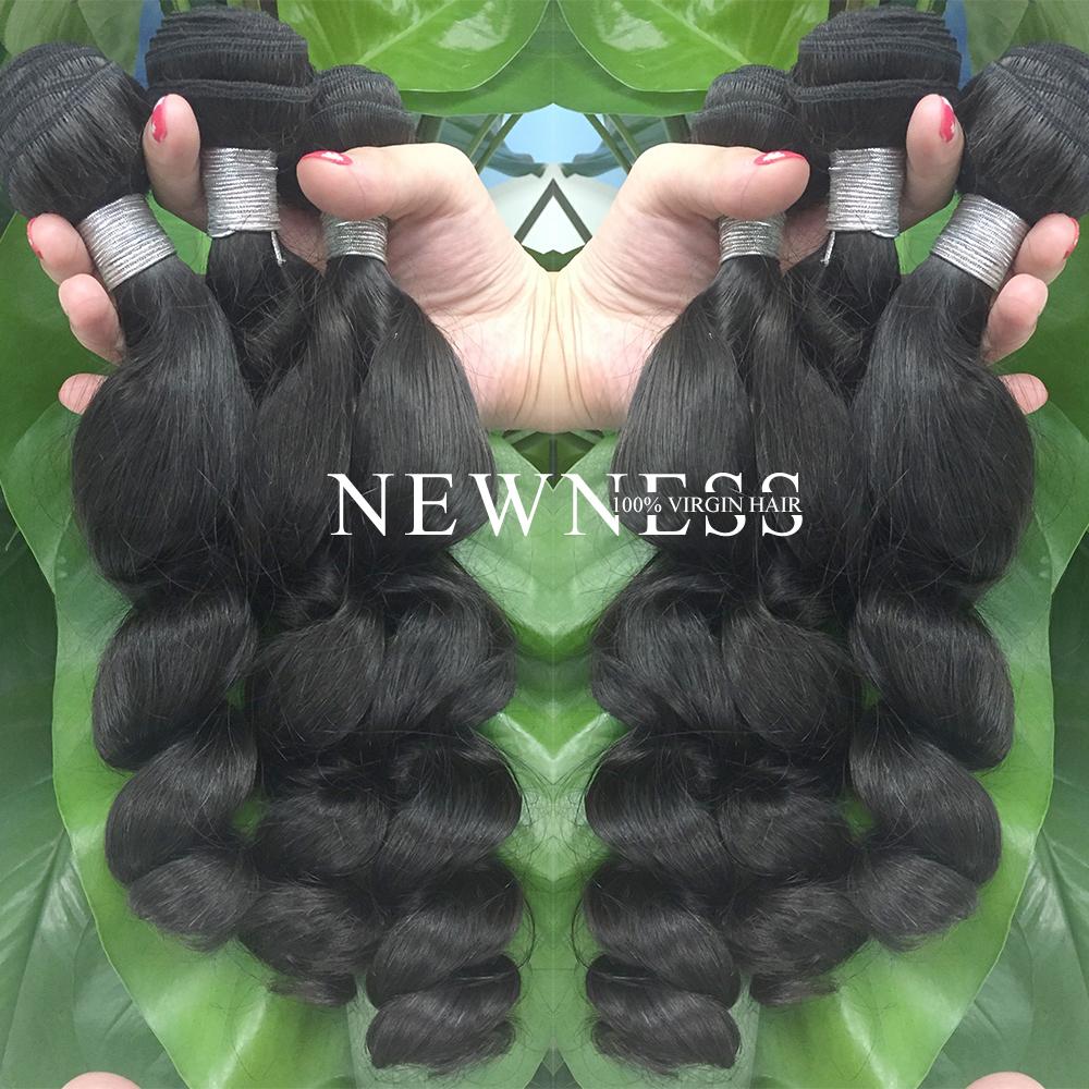 Newness hair beauty supply wigs beautiful human hair wigs for black women  cheap brazilian hair weave bundles 5bdb119775