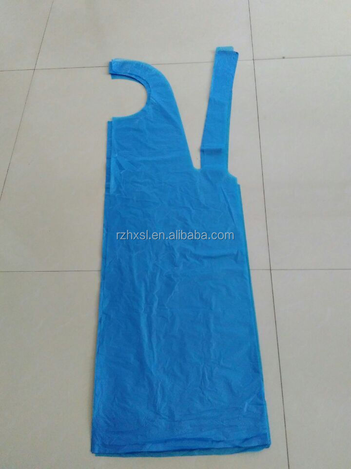 Color Pe Aprons Disposable Plastic Aprons Chef Aprons For Men Made ...