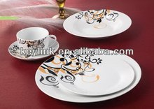 Good quality hot sell blue and white ceramic tableware