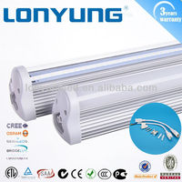"Integrated LED T8 SMD 3014 high lumen 36"" 900mm t8 led tube 90cm"