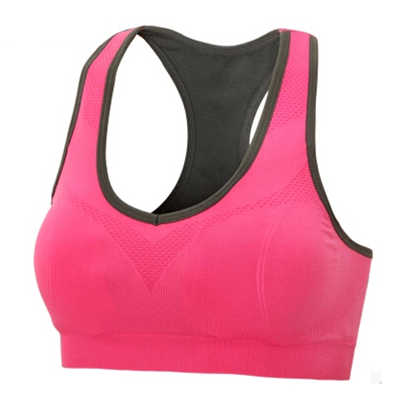 Summer Style Women Sport Bra Top Fitness/Running/Gym Stretch Sports Super Push Up Seamless Bra Brassiere Quick Dry Bra For Sport