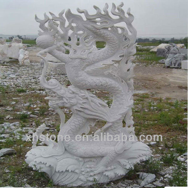 White Chinese Dragon Garden Statue On Hot Sale   Buy Dragon Statue,Dragon  Garden Statue,Dragon Statue Outdoor Product On Alibaba.com
