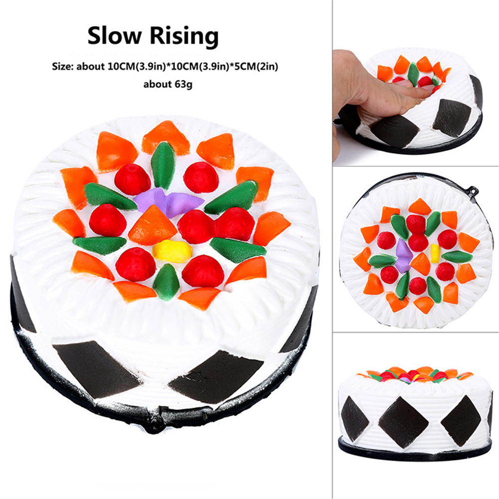 Enthusiastic Simulation Delicate Cake Slow Rising Scented Squeeze Relieve Stress Toy Squishy Chocolate Smooshy Mushy Squish Stress Relief Stress Relief Toy