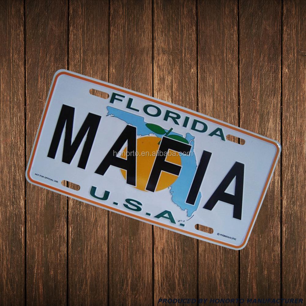 546 Plaque Immatriculation Florida