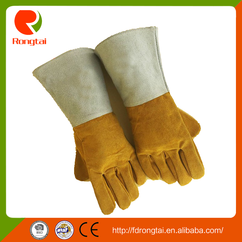 China wholesale leather working safety welding <strong>gloves</strong>