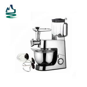 Stainless Steel Body Multifunctional Kitchen Food Stand Mixer