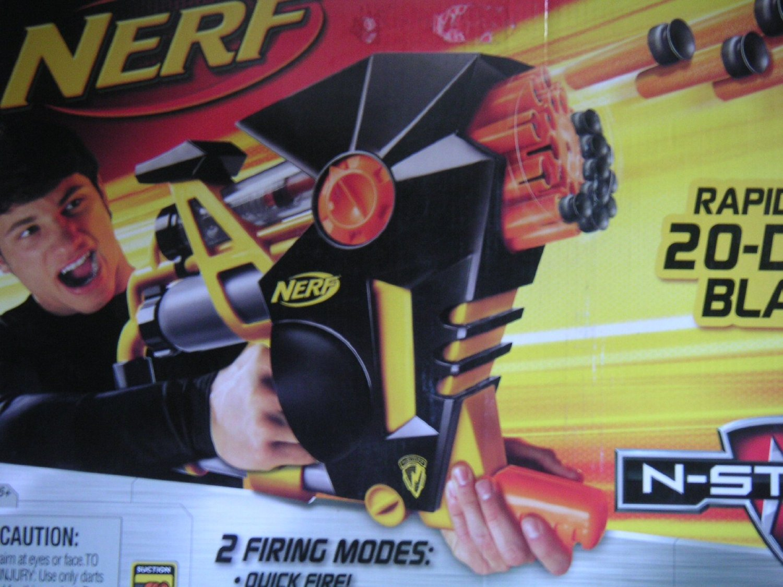 NERF - N-Strike - RAPID FIRE DART BLASTER AS-20