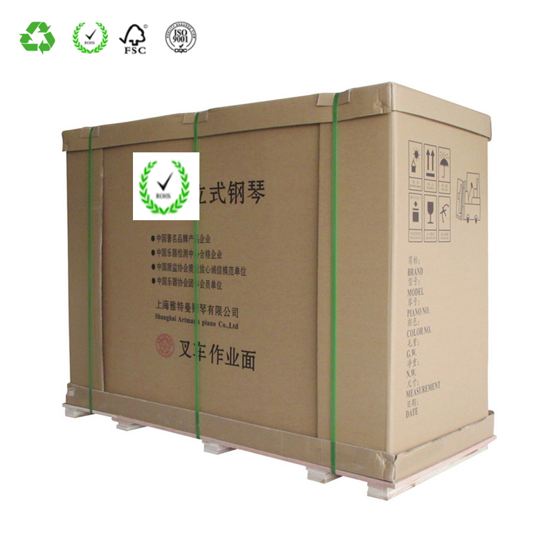 Accept Custom Order And Corrugated Board Paper Type 3 5 7 Layer Corrugated Cardboard Carton Box Making
