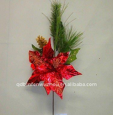 2012 Nuevo Estilo De Navidad Recoger Flores Para Las Decoraciones ...