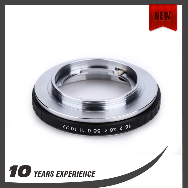 Newest design Metal camera lens adapter ring for Canon