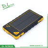 universal power bank 8000mah solar charger for iPhone samsung tablet