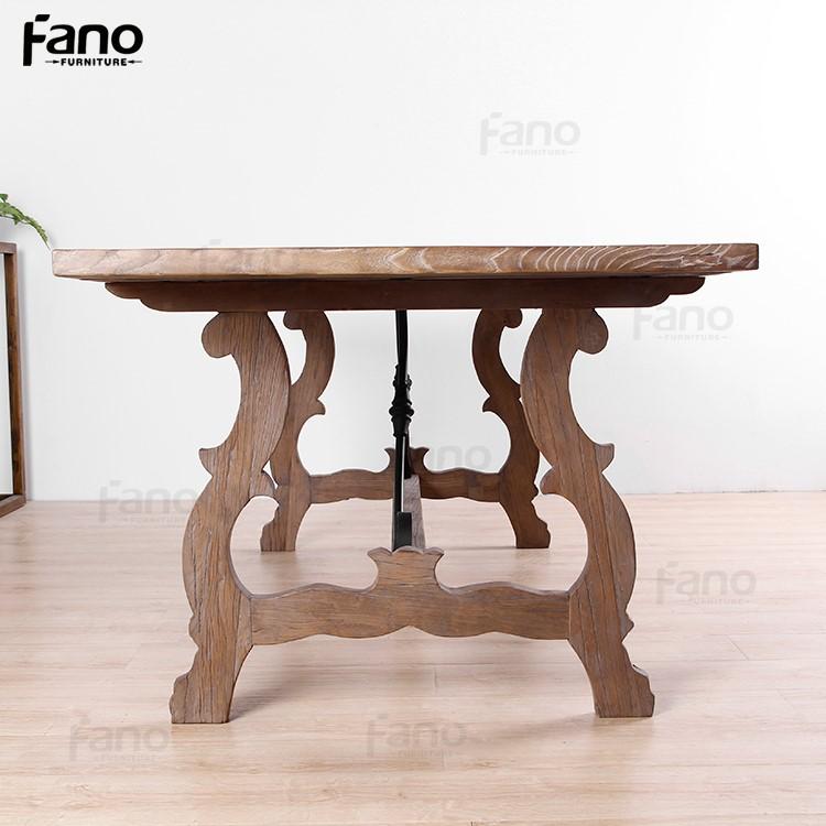 Antike Chinesische Möbel Aufgearbeitete Holz Esstisch Designs Mit