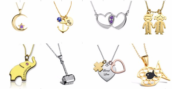 Yichagn Jewlry Aromatherapy Essential Oil Diffuser Necklace 316l ...