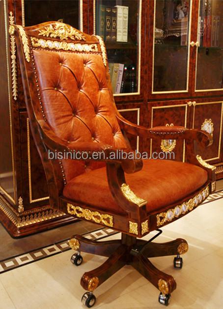Di lusso francese stile luigi xv scrivania classico/antico ottone ...