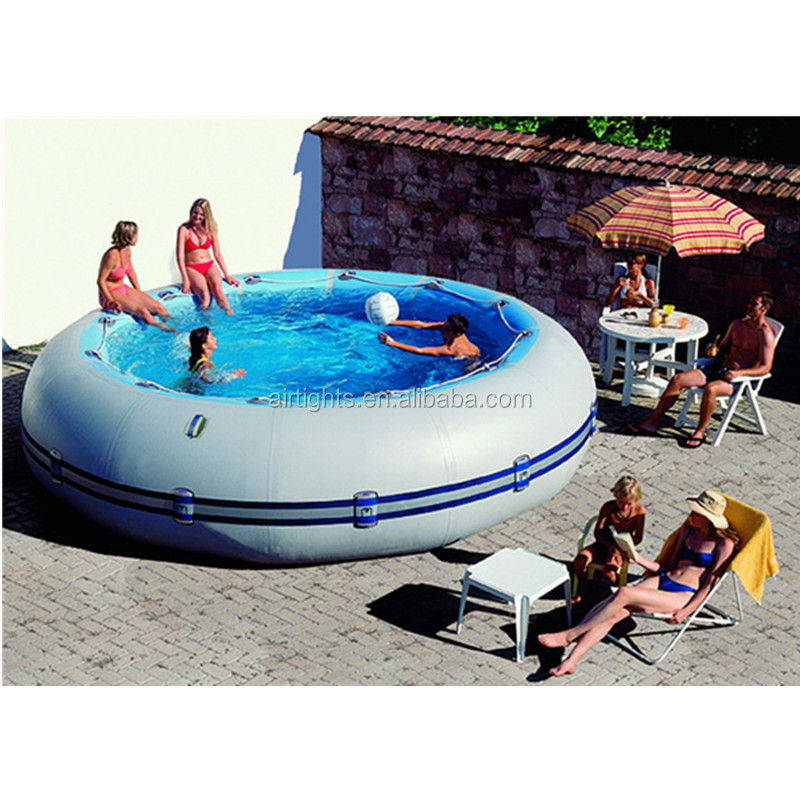 <strong>inflatable</strong> swimming pool for kids or adults, high quality 0.9mm PVC <strong>inflatable</strong> pool