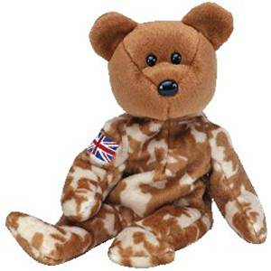 (Ship from USA) TY Beanie Baby - HERO the Military Bear (UK Exclusive  Version) (8.5 inch) -MWMTs  ITEM H3NG UE-EW23D138339 847ed6d3b948