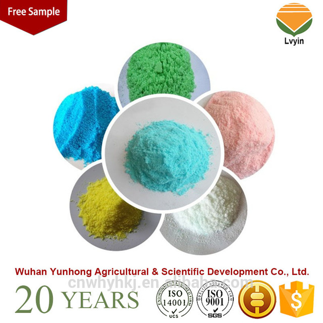 New design NPK soluble fertilizer for agriculture