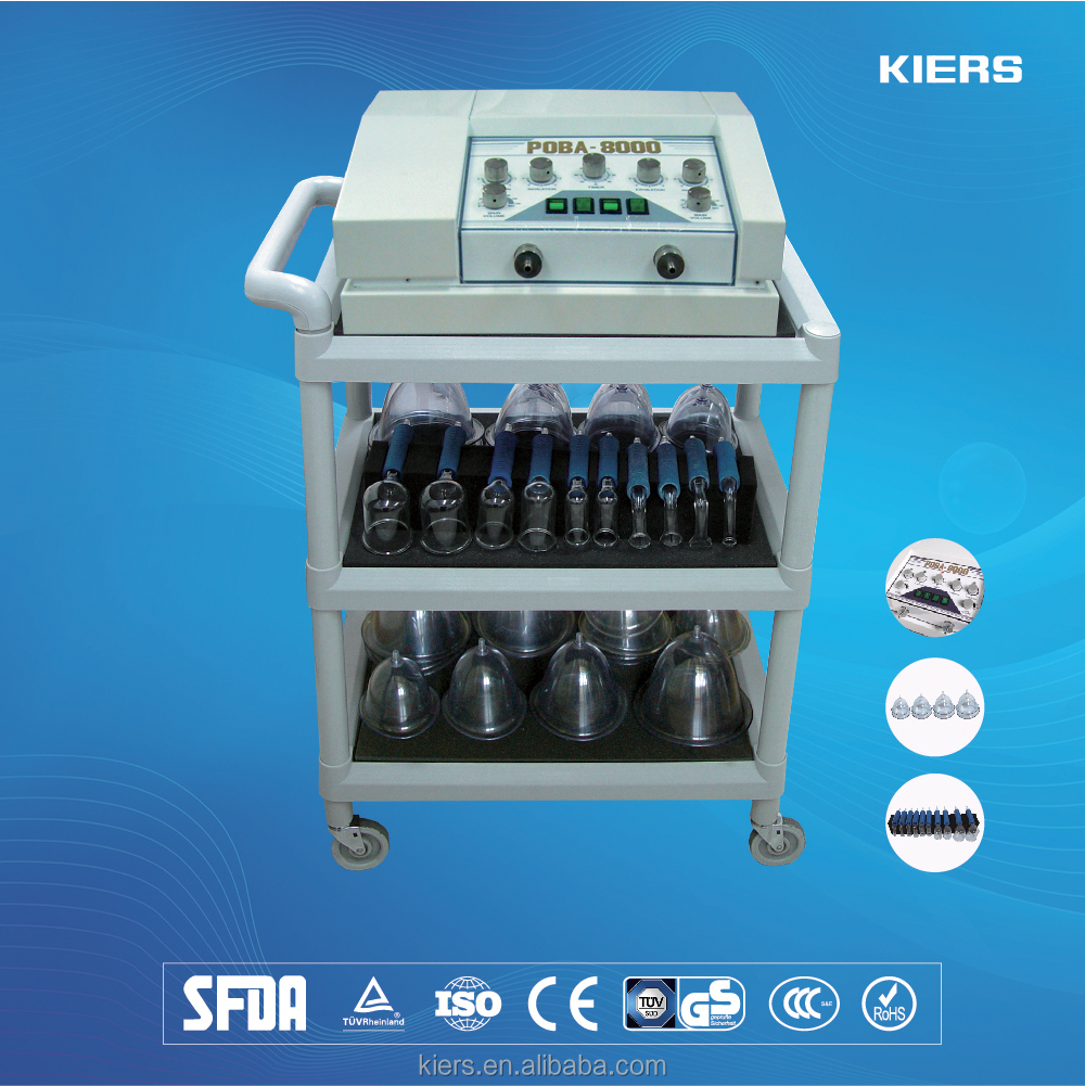 2016 Enhance Breast Enlargement scraping cupping Beauty Machine / butt lifting machine / massaging equipment for health care