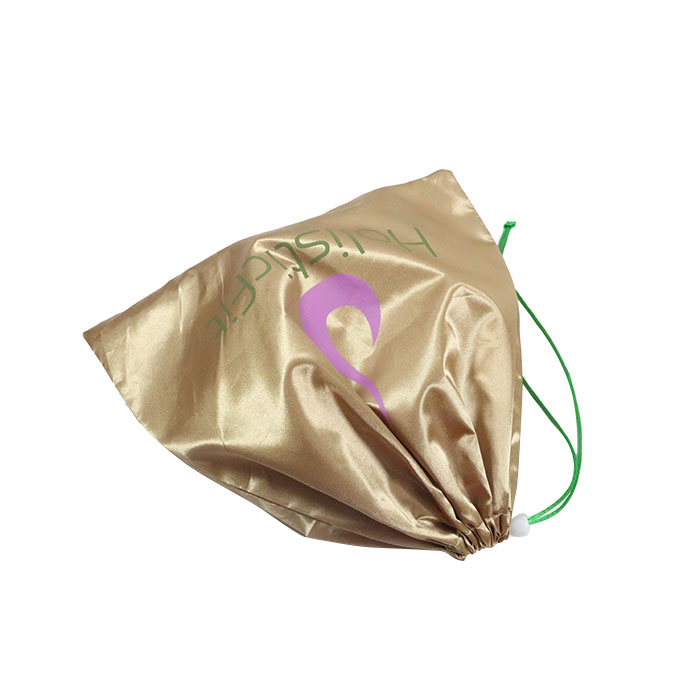 Optional Color Rose Gold Stain Drawstring Pouch Small Jewelry Pouch Bag With Logo