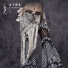Handmade Tribal Belly Dancing Long Tassels Hip Scarf