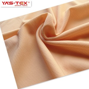 Eco-friendly soft touch high elastic nylon mesh knitted fabric for sportswear