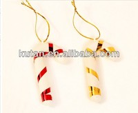 2013 Artificial Christmas cane, Xmas cane orament