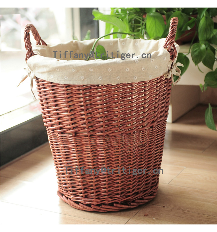 100% Natural Hand Woven Wicker Gift Baskets Wholesale