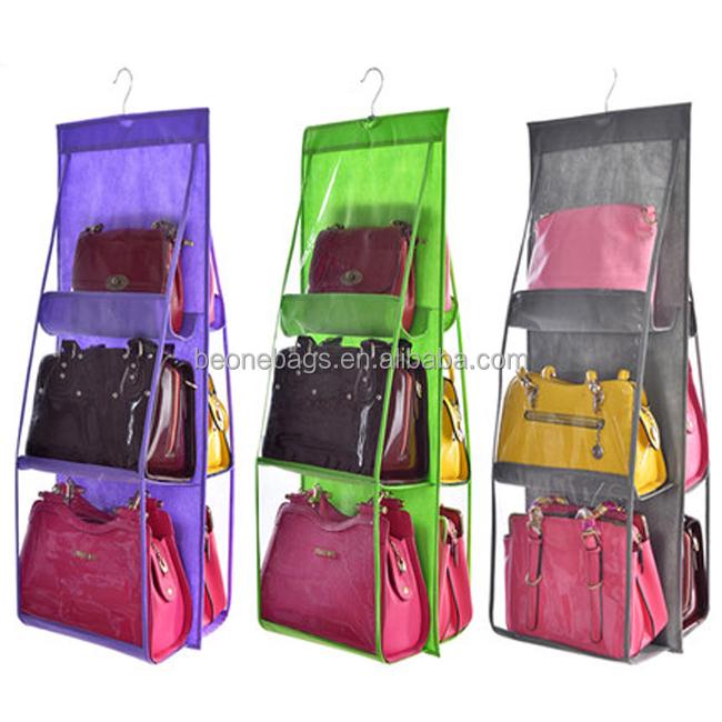 Custom Transparent Non Woven Dust Cover Bag For Women Handbag - Buy ... e5e22b6034