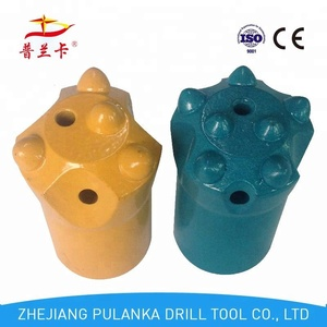 diamond drill rod b22 32mm tapered hard rock button drill bit