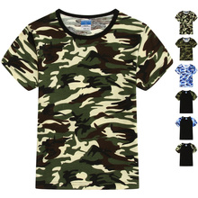 Fashion Cotton High Quality Camo Kids tshirts