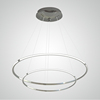 L4U TUV Approved European Style Double Circular Rings Chandelier Office LED Ceiling Pendant Light