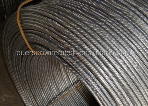High quality Cold rolled ribbed steel bar/reinforced steel bar