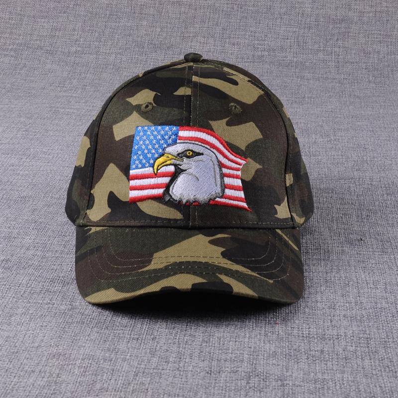 Camo Embroidery American Flag Baseball Cap Military Hat - Buy ... e591c99cbb0