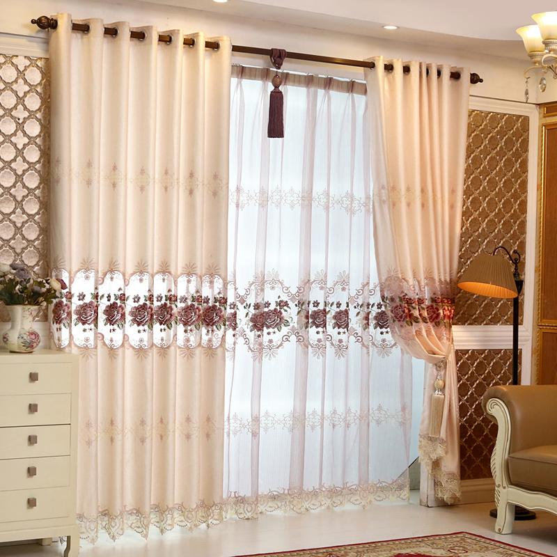 online kaufen gro handel luxus vorh nge aus china luxus vorh nge gro h ndler. Black Bedroom Furniture Sets. Home Design Ideas