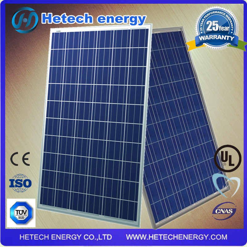 sun power solar system with high efficiency silicon pv 250w ploy solar panel for home
