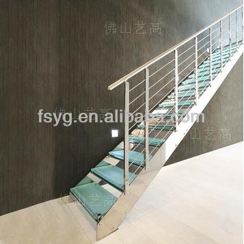 modular de escaleras de vidrio precio
