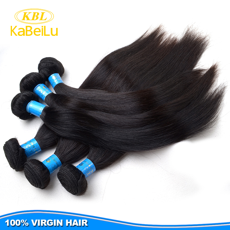 free shipping straight hair Hot sale material for hair extension