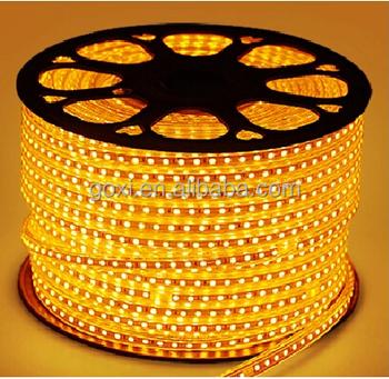 220V SMD 5050 56 Leds M Side Emitting Backlight Bicycle Blue Led Strip Light