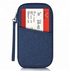 Custom wholesale travel organizer passport document holder wallet